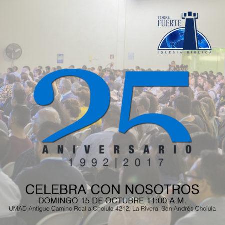 25 Aniversario – Culto Especial