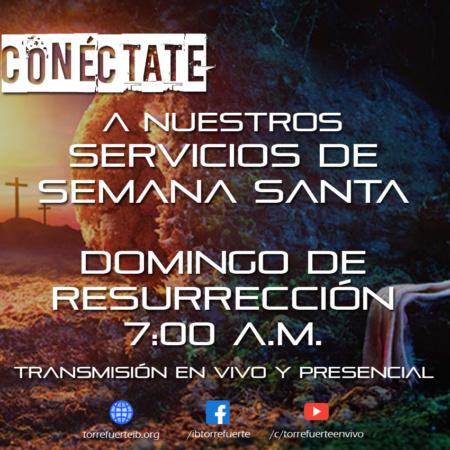 SEMANA SANTA EN TORRE – Domingo Resurreción 4 de Abril