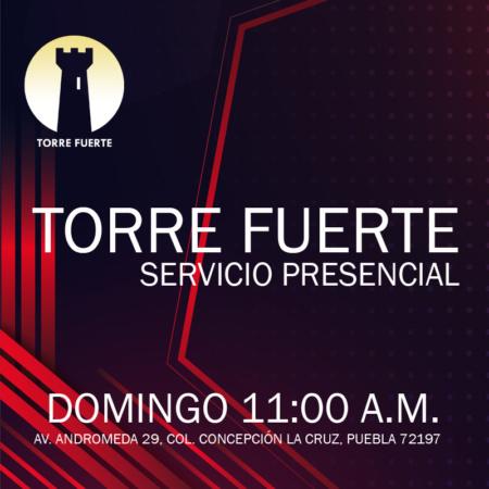 Servicio Presencial domingo 11:00 a.m.