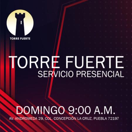 Servicio Presencial domingo 9:00 a.m.